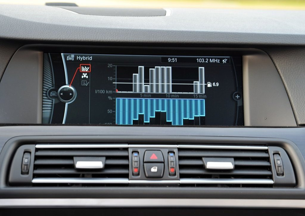 2013 BMW 5 ActiveHybrid Feature (Photo 10 of 30)