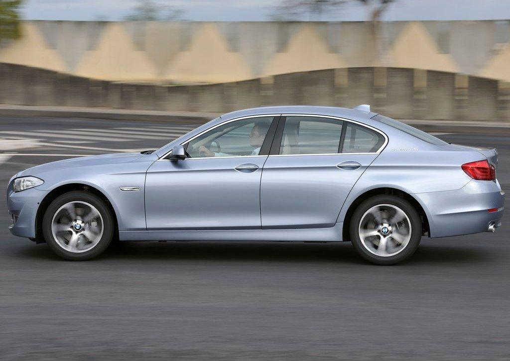 2013 BMW 5 ActiveHybrid Left Side (Photo 21 of 30)
