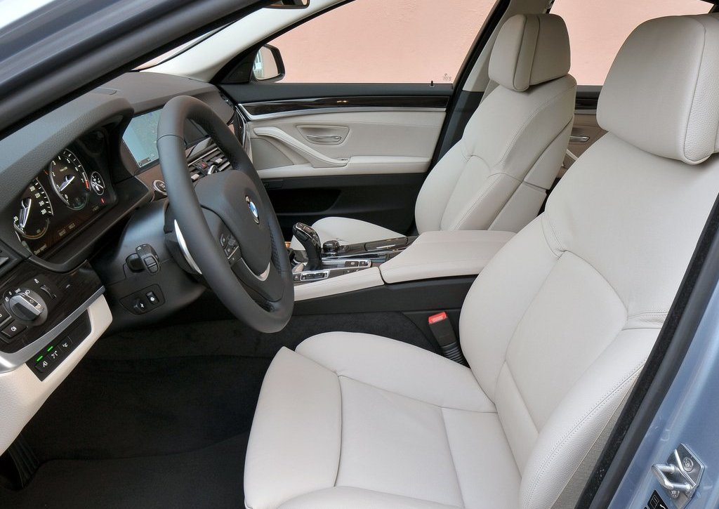 2013 BMW 5 ActiveHybrid Seat (Photo 24 of 30)