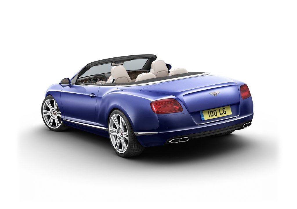 2013 Bentley Continental GTC V8 Rear (View 2 of 10)