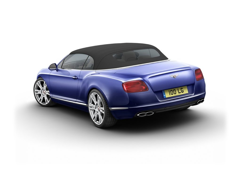 2013 Bentley Continental GTC V8 Rear  (Photo 4 of 10)