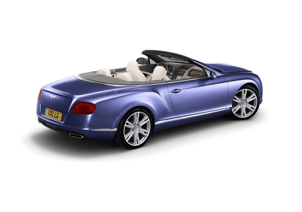 2013 Bentley Continental GTC V8 Rear (View 6 of 10)