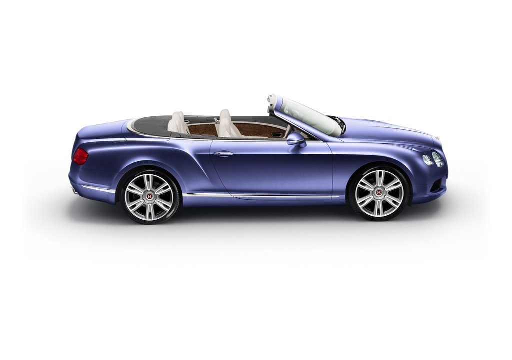 2013 Bentley Continental GTC V8 Side  (Photo 9 of 10)
