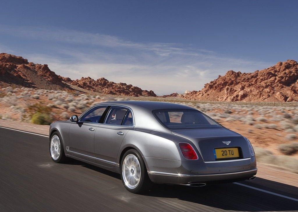 2013 Bentley Mulsanne Mulliner Rear (Photo 8 of 10)