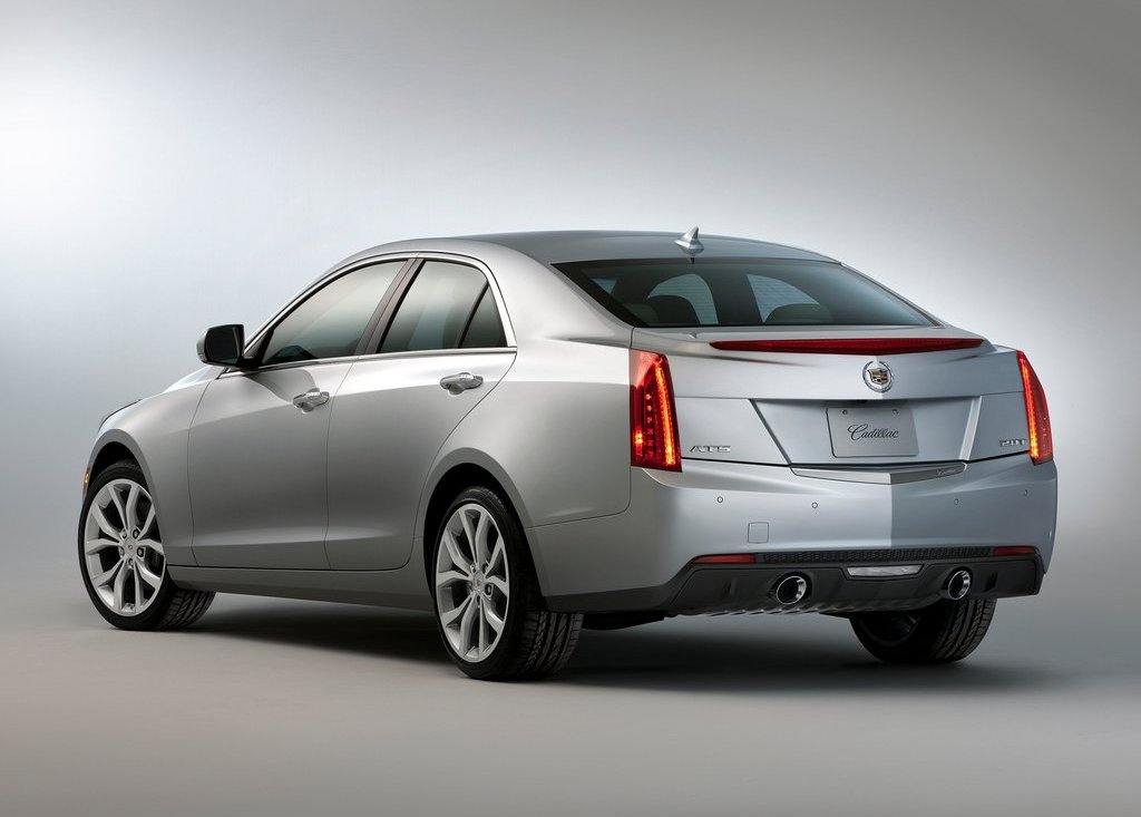 2013 Cadillac ATS Rear (Photo 11 of 13)