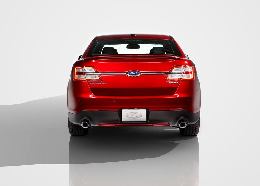 2013 Ford Taurus SHO Rear (View 14 of 17)