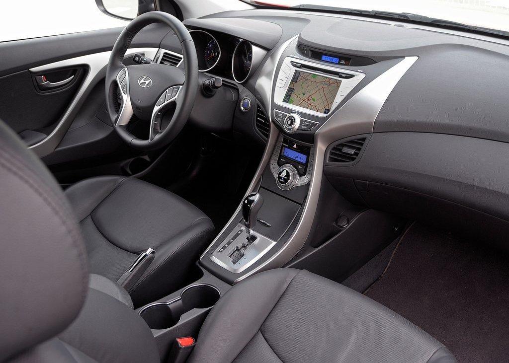 2013 Hyundai Elantra Coupe Interior (View 2 of 10)