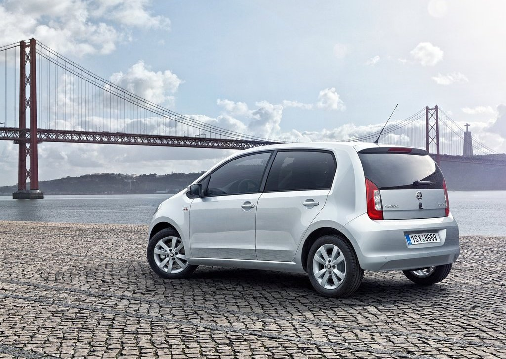 2013 Skoda Citigo 5 Door Rear (View 19 of 27)