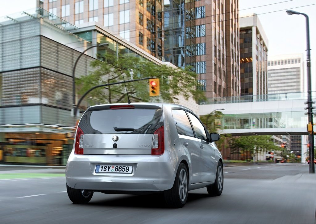2013 Skoda Citigo 5 Door Rear (View 18 of 27)