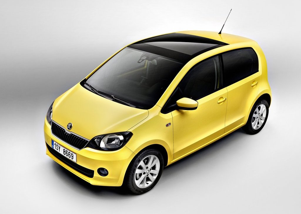 2013 Skoda Citigo 5 Door Yellow (View 26 of 27)
