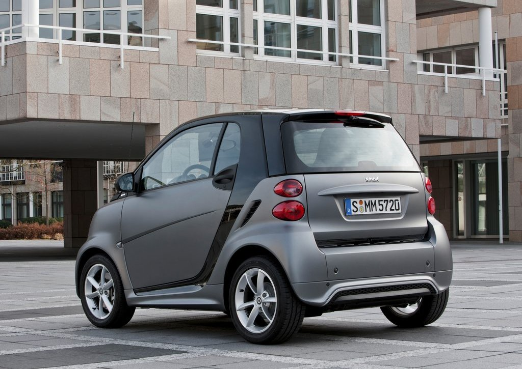 2013 Smart Fortwo Rear Angle (View 6 of 7)