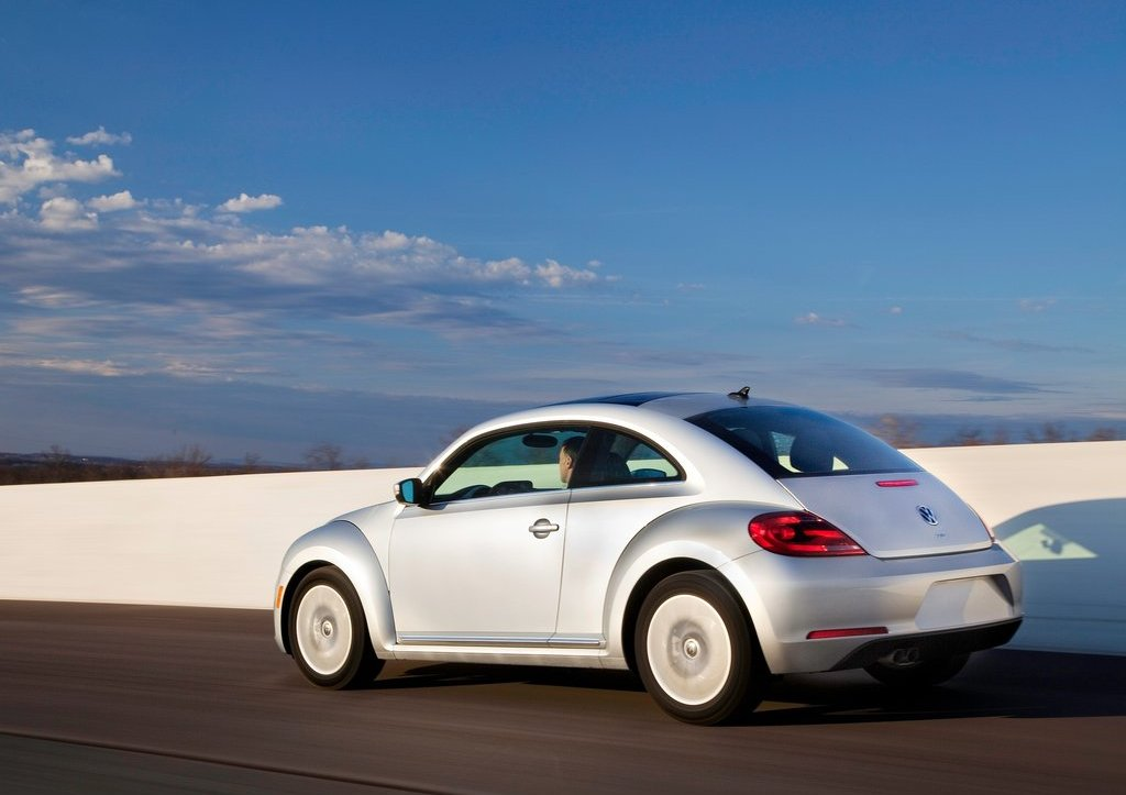 2013 Volkswagen Beetle TDI Rear Angle (Photo 6 of 6)