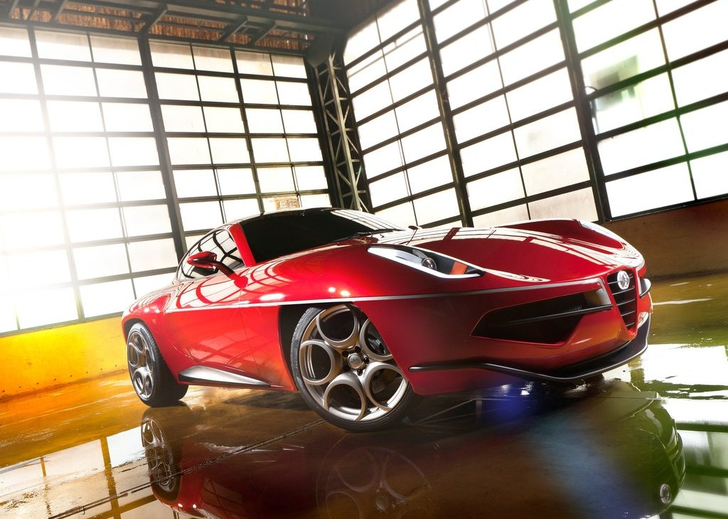 2012 Alfa Romeo Disco Volante Touring Concept (Photo 2 of 11)