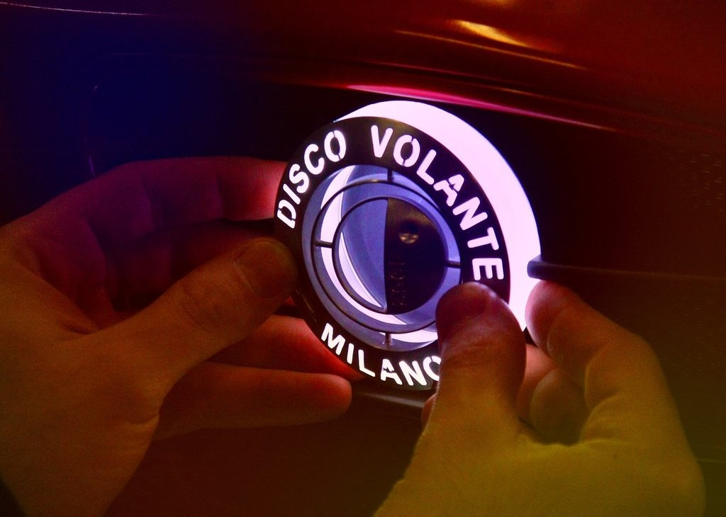2012 Alfa Romeo Disco Volante Touring Concept Logo (Photo 8 of 11)