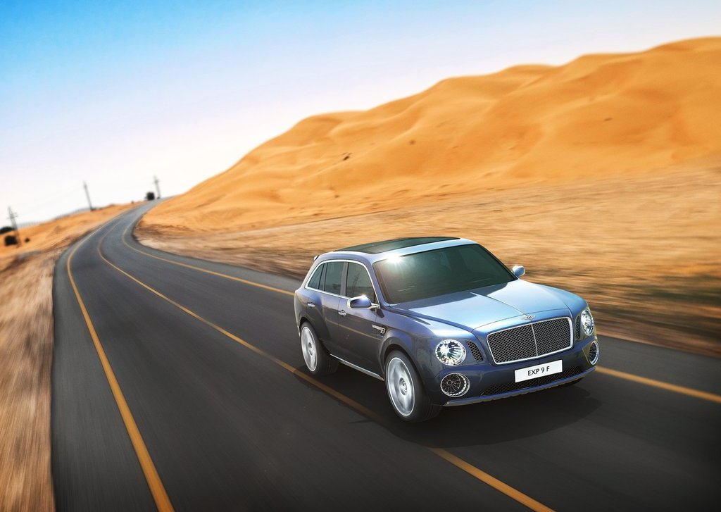 2012 Bentley EXP 9 F SUV Front (Photo 3 of 10)