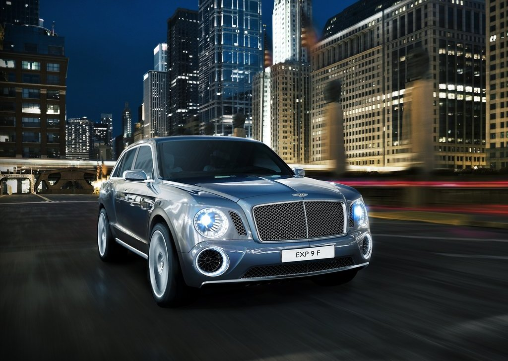 Featured Image of 2012 Bentley EXP 9 F SUV : Geneva Auto Show