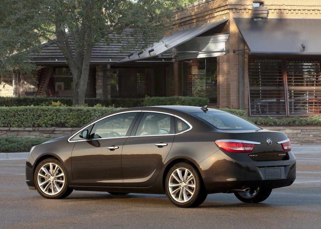 2012 Buick Verano Rear Angle (View 12 of 14)
