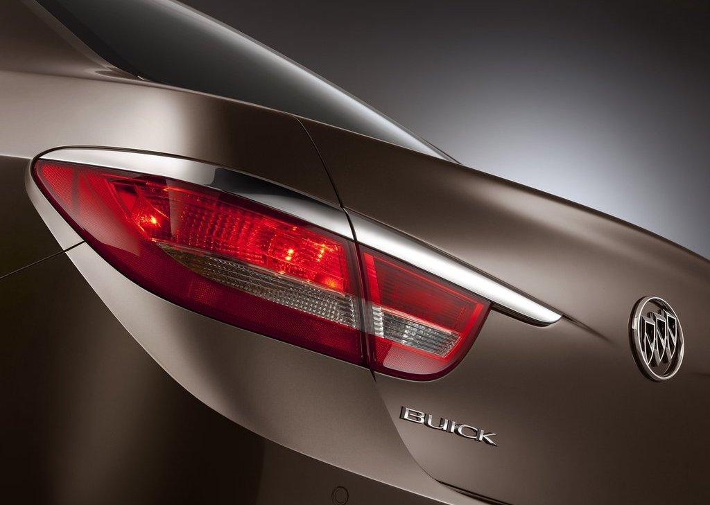 2012 Buick Verano Tail Lamp (Photo 14 of 14)