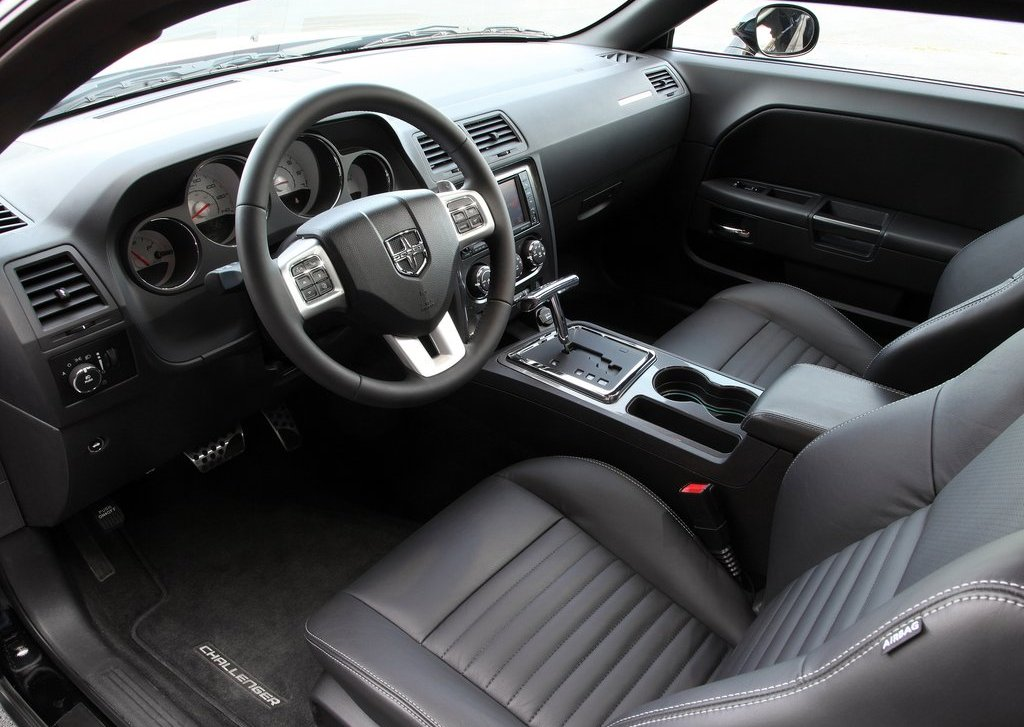 2012 Dodge Challenger Rallye Redline Interior (Photo 5 of 9)