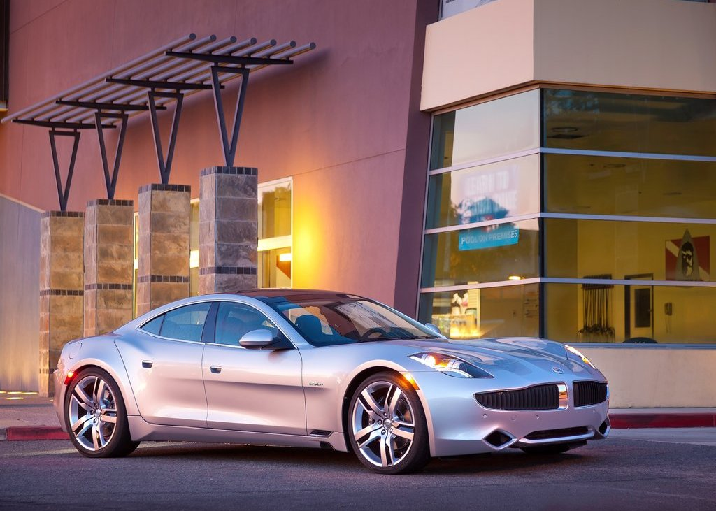 2012 Fisker Karma Front Angle (Photo 15 of 37)