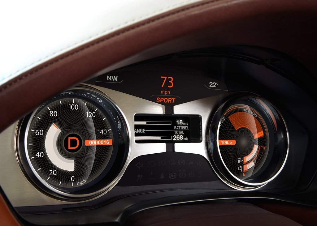 2012 Fisker Karma Speedometer (Photo 34 of 37)