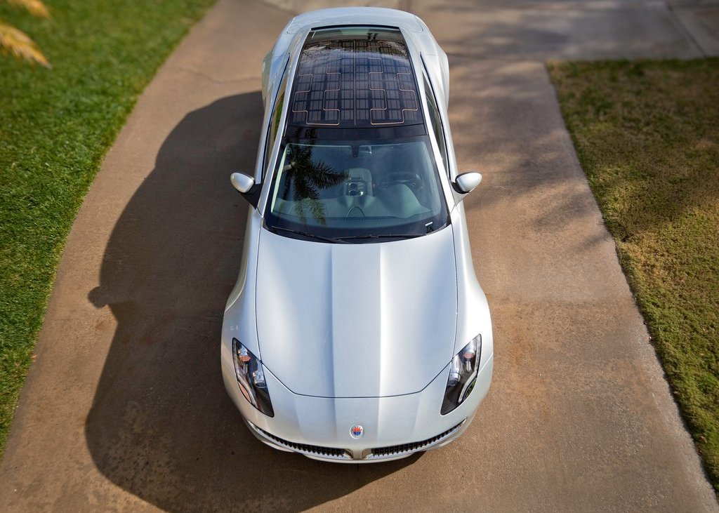 2012 Fisker Karma Top View (Photo 36 of 37)