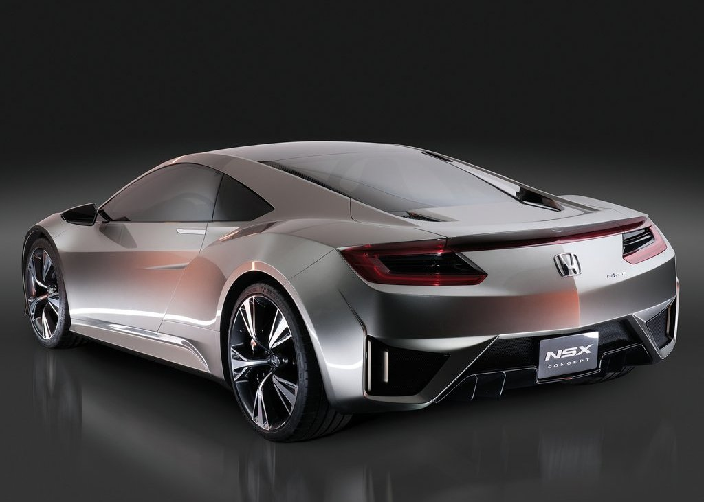 2012 Honda NSX Concept Rear Angle (Photo 11 of 13)