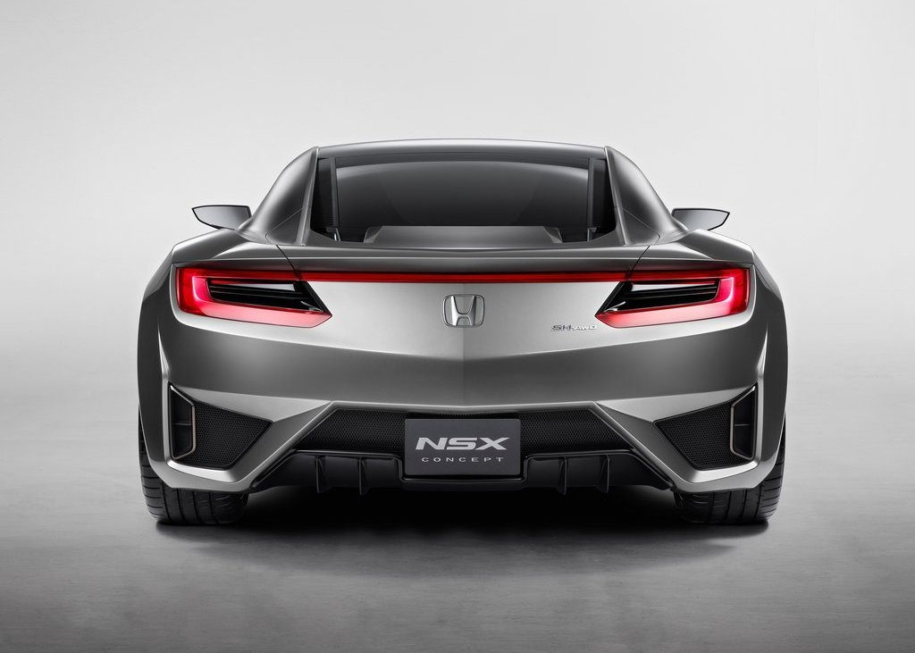 2012 Honda NSX Concept Rear (Photo 9 of 13)