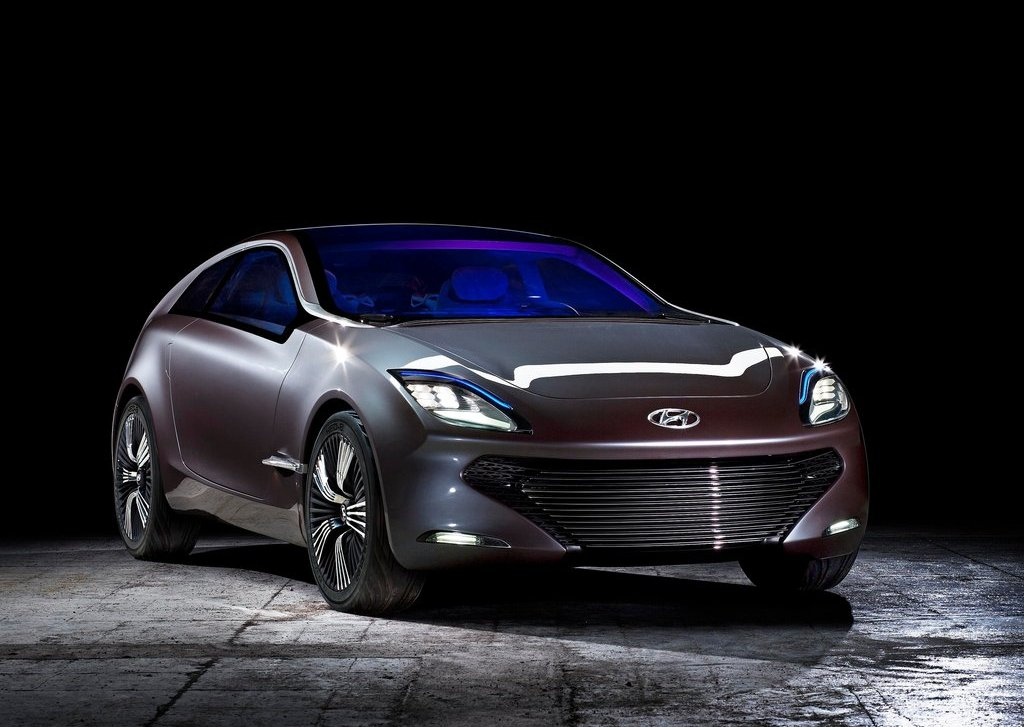 2012 Hyundai I Ioniq Concept Front (Photo 4 of 8)