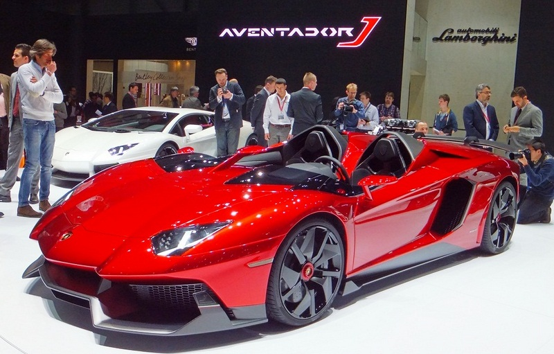 Featured Image of 2012 Lamborghini Aventador J At Geneva