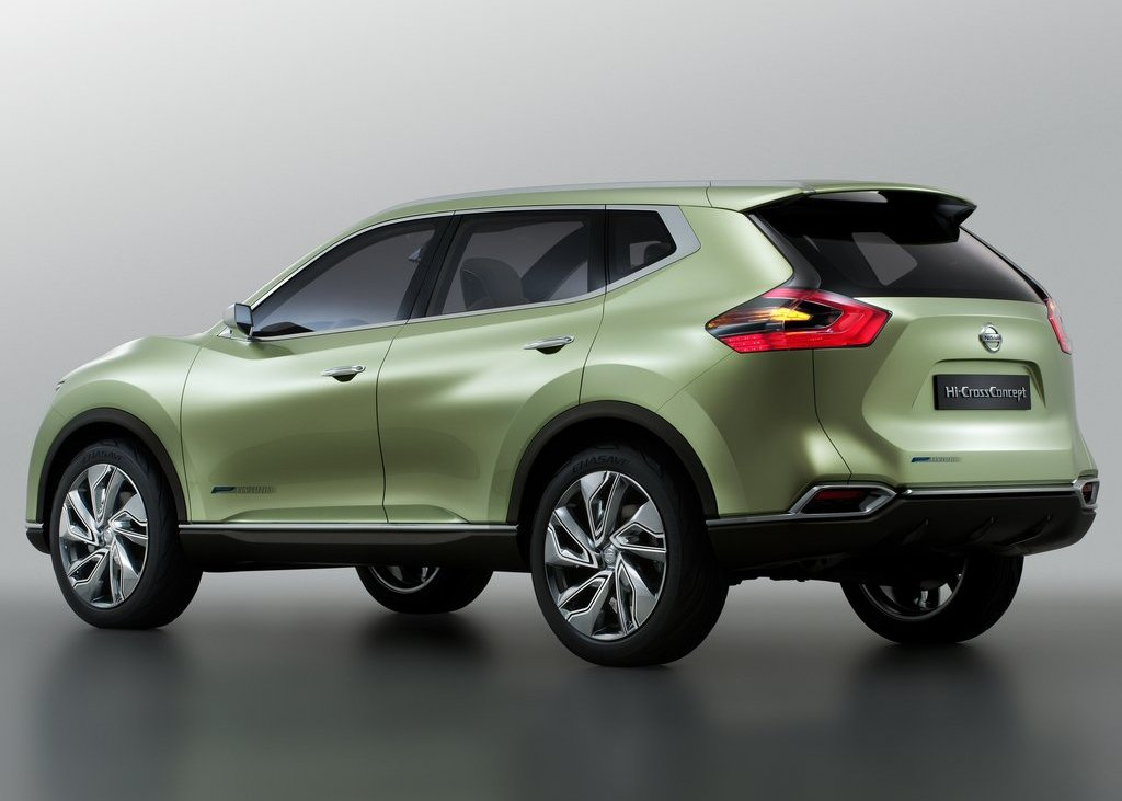 2012 Nissan Hi Cross Concept Rear Angle (Photo 10 of 17)