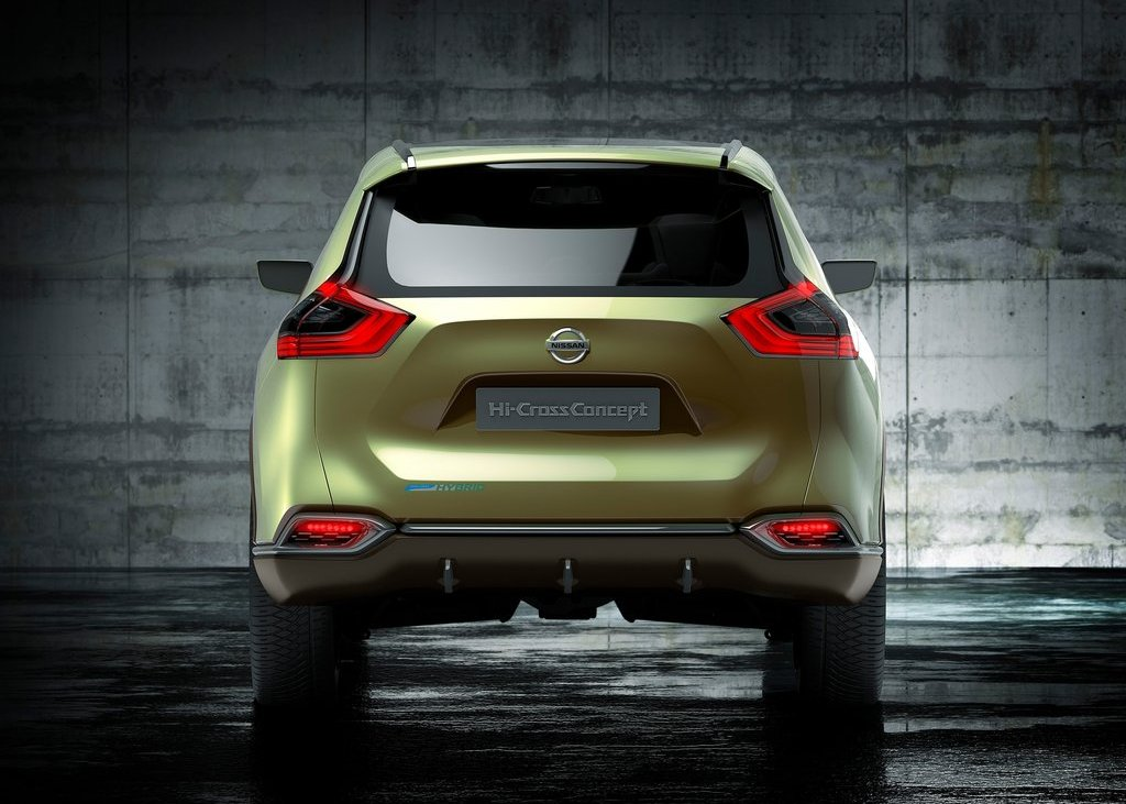 2012 Nissan Hi Cross Concept Rear (Photo 9 of 17)