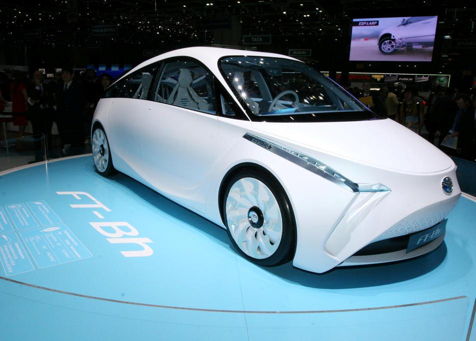 Featured Image of 2012 Toyota FT Bh Concept At Geneva