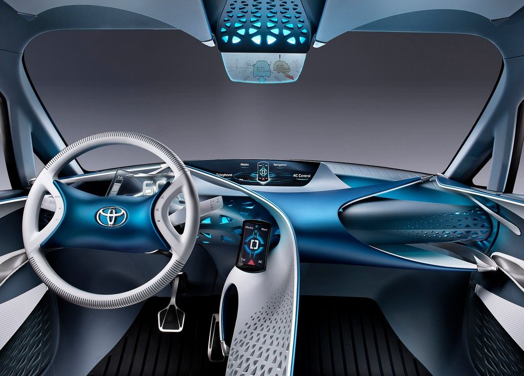 2012 Toyota FT Bh Concept Dashboard (Photo 3 of 10)