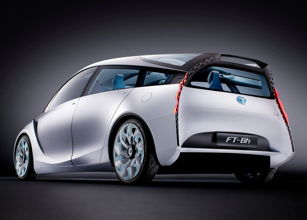 2012 Toyota FT Bh Concept Rear Angle (Photo 8 of 10)