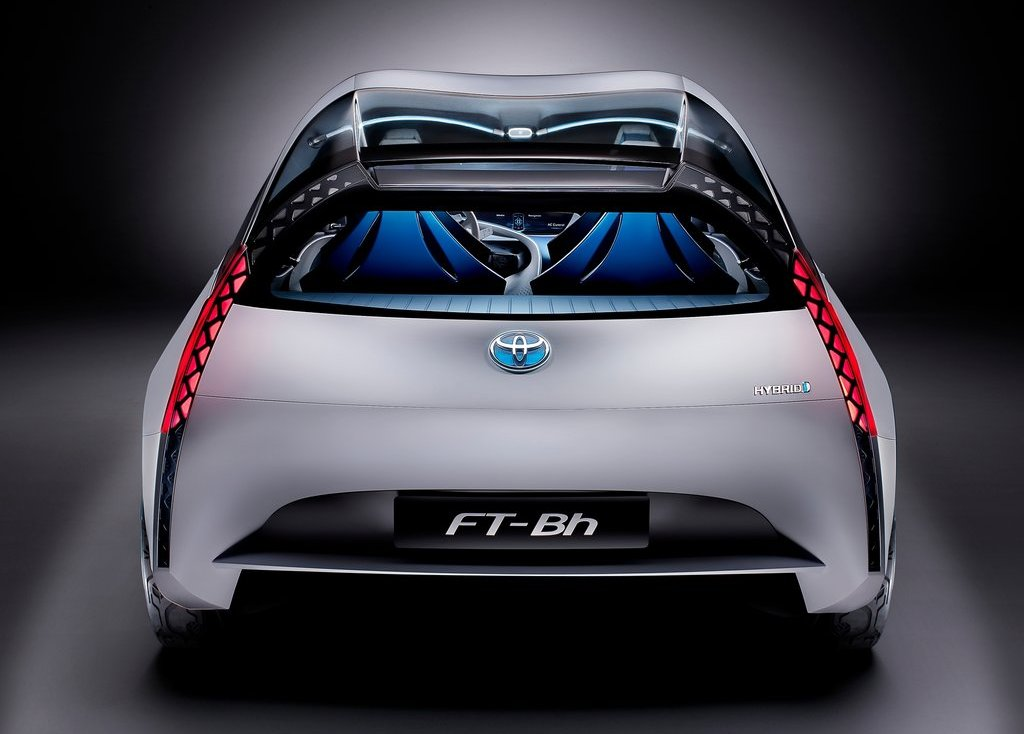 2012 Toyota FT Bh Concept Rear (Photo 7 of 10)