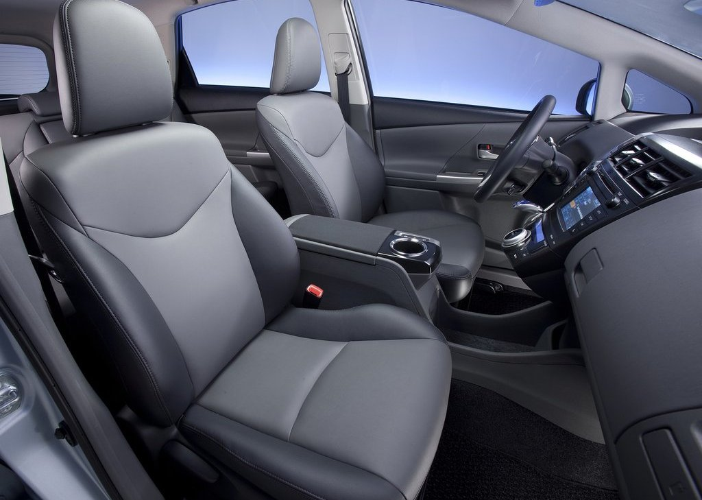 2012 Toyota Prius V Interior (View 15 of 25)