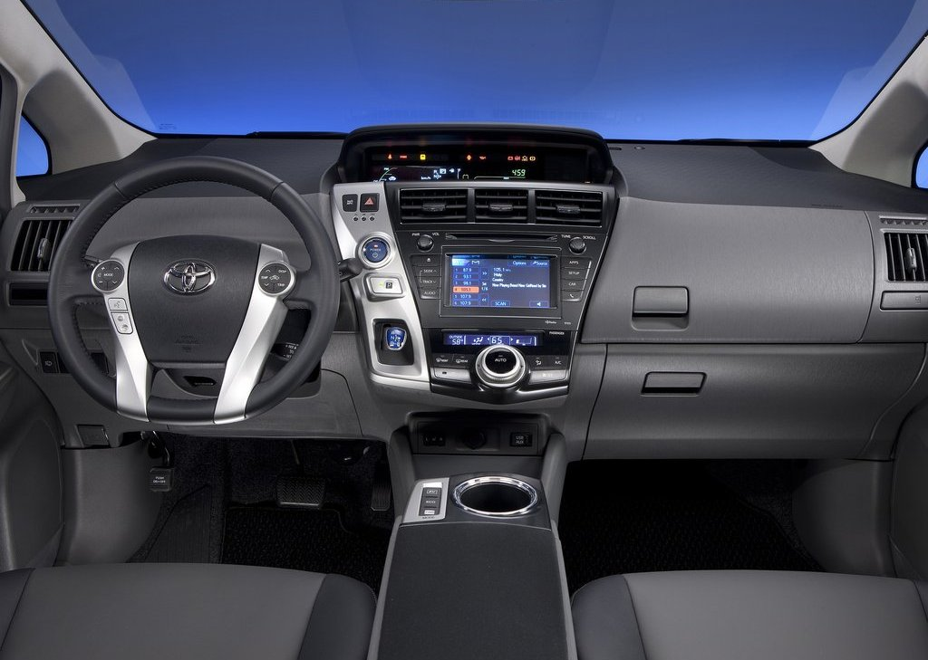 2012 Toyota Prius V Interior (View 16 of 25)