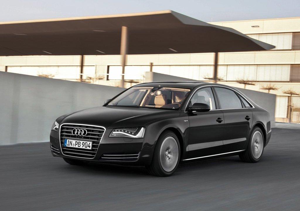 2013 Audi A8 L Hybrid Front (Photo 3 of 8)