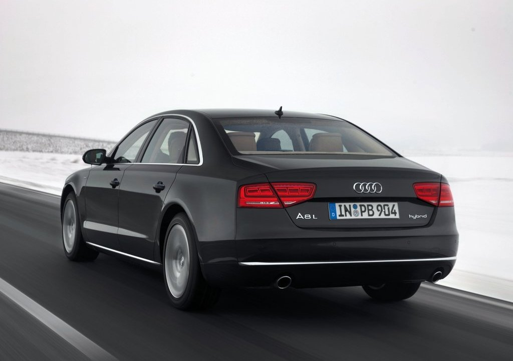 2013 Audi A8 L Hybrid Rear (View 3 of 8)