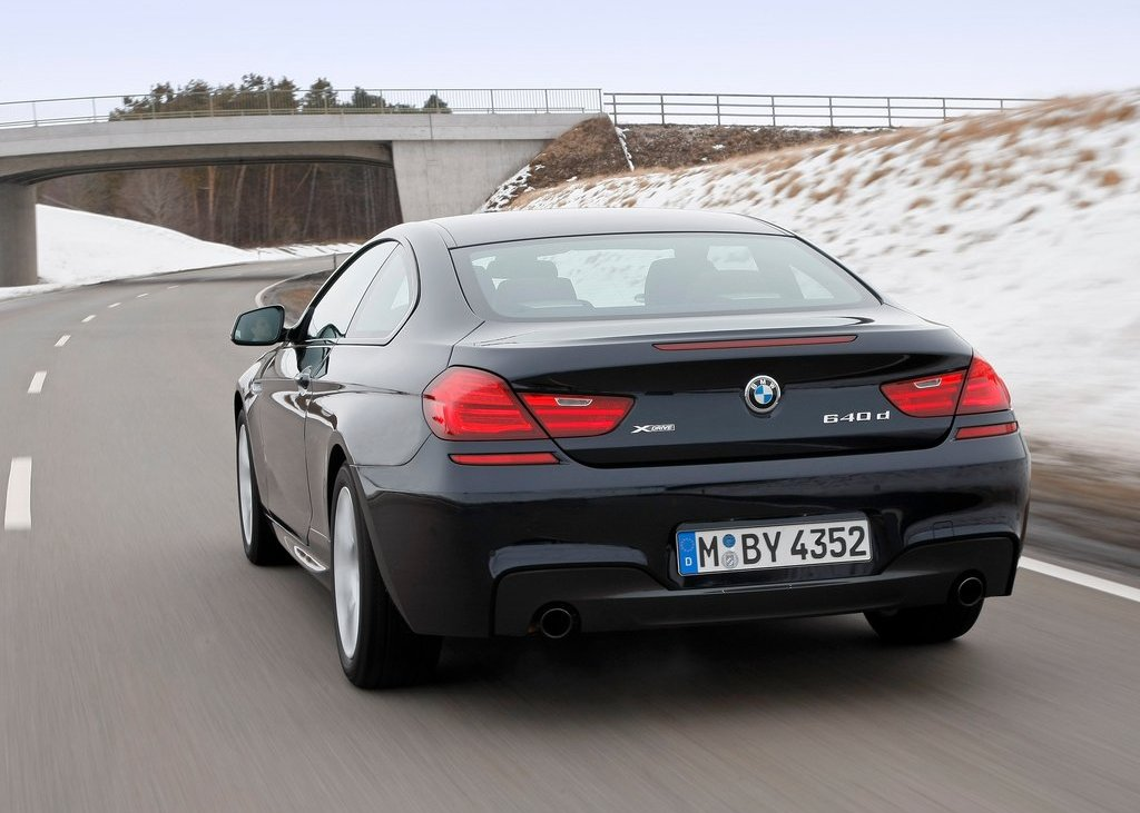 2013 BMW 640d XDrive Coupe Rear (Photo 21 of 23)