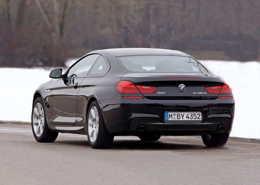 2013 BMW 640d XDrive Coupe Rear (Photo 22 of 23)