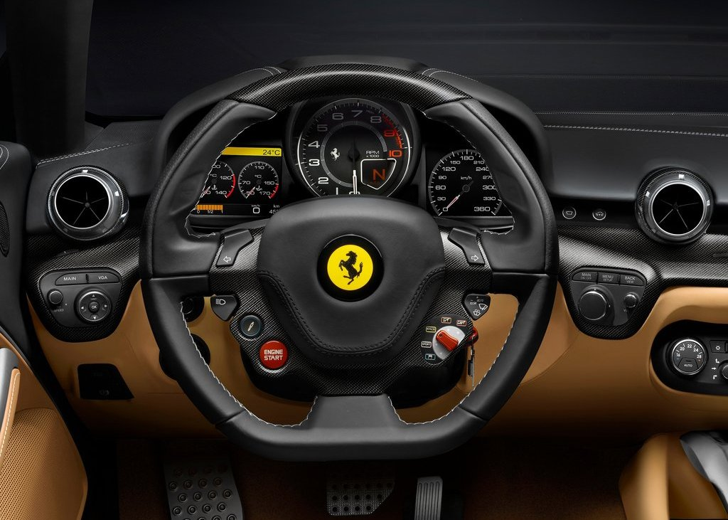 2013 Ferrari F12berlinetta Interior (Photo 4 of 7)