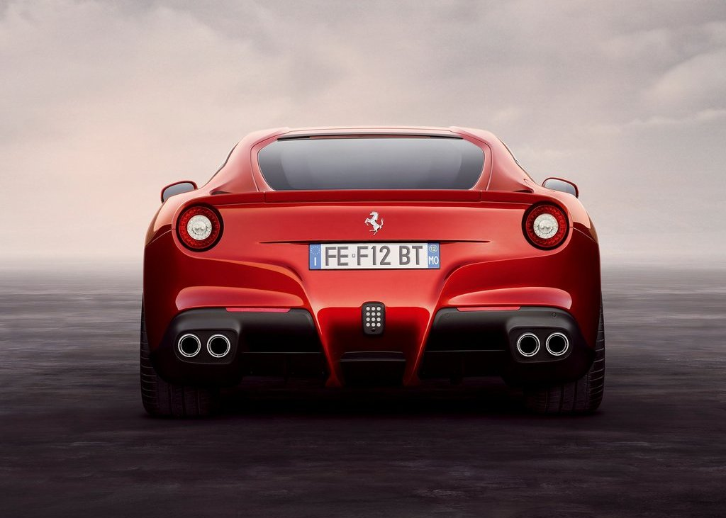2013 Ferrari F12berlinetta Rear (Photo 5 of 7)