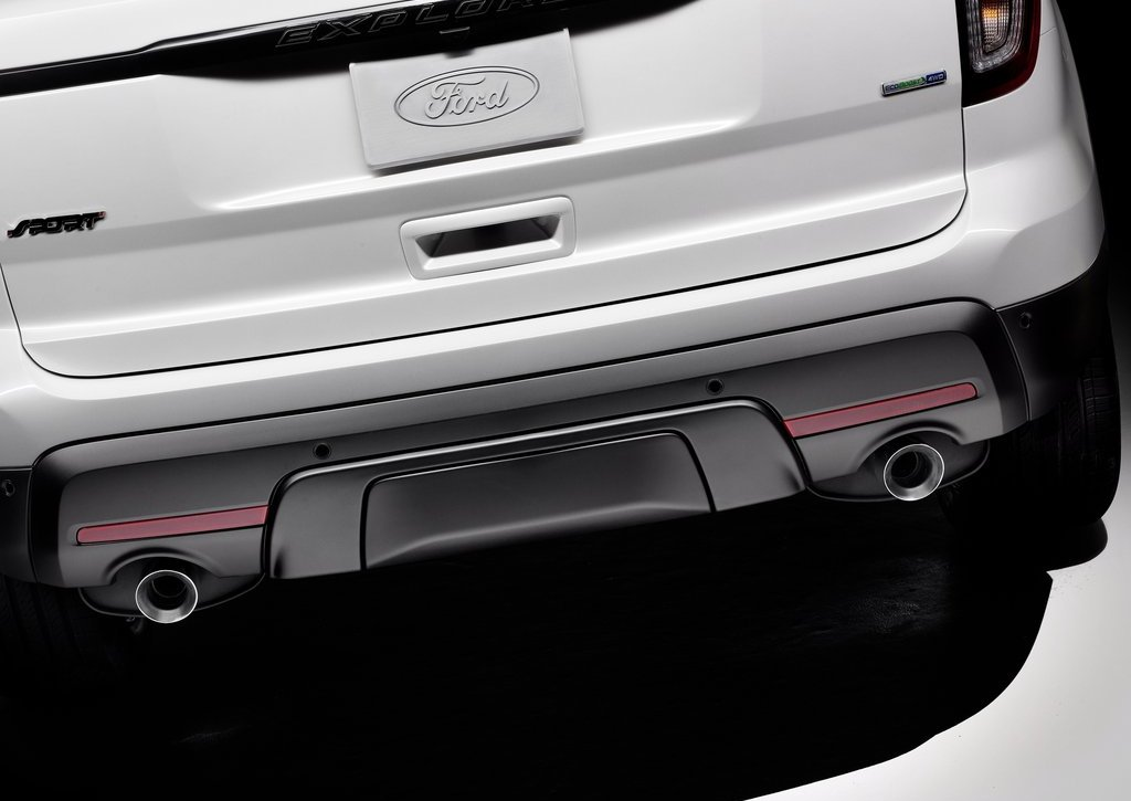 2013 Ford Explorer Sport Exhaust (Photo 6 of 23)