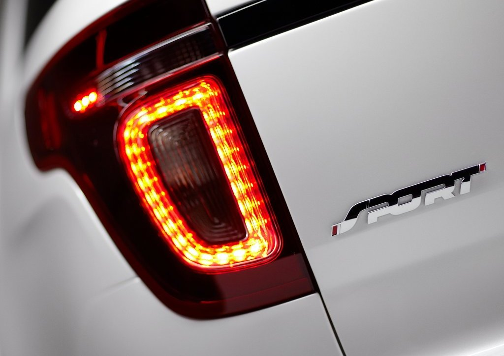2013 Ford Explorer Sport Tail Lamp (View 23 of 23)