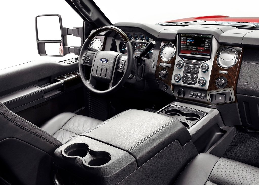 2013 Ford Super Duty Interior (View 7 of 18)