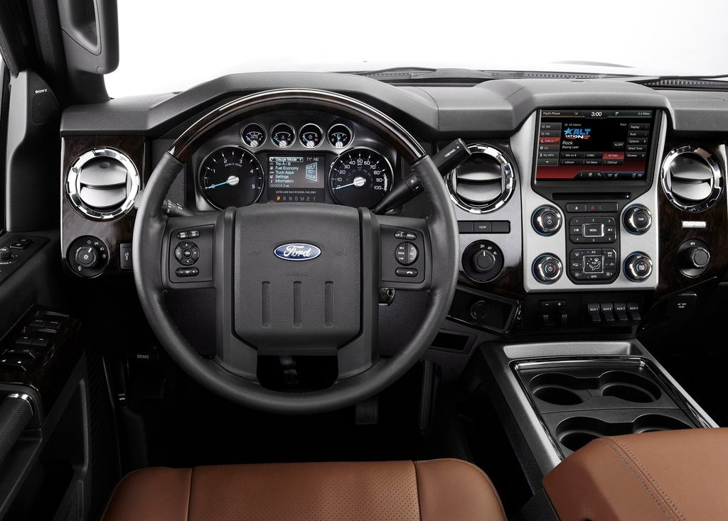 2013 Ford Super Duty Interior (View 14 of 18)