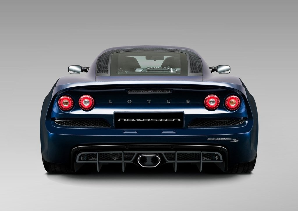 2013 Lotus Exige S Roadster Rear (Photo 4 of 5)