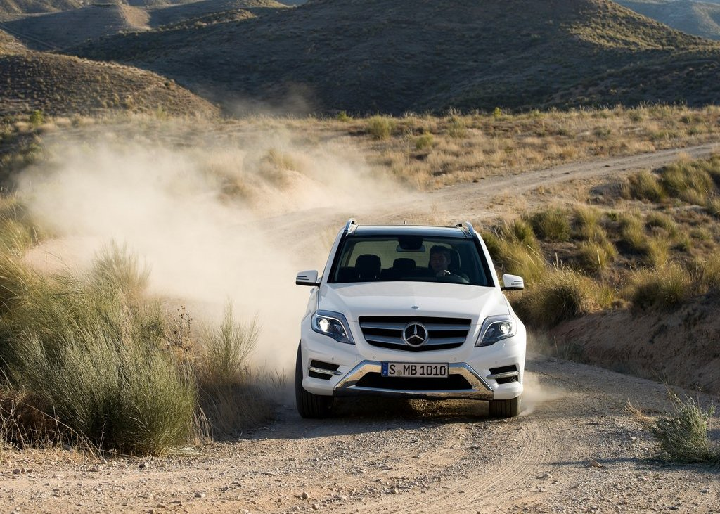2013 Mercedes Benz GLK Class Front (View 6 of 21)